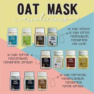 Masker Oat Oat Mask by ewolicious 40 gram masker oat terlaris thumbnail