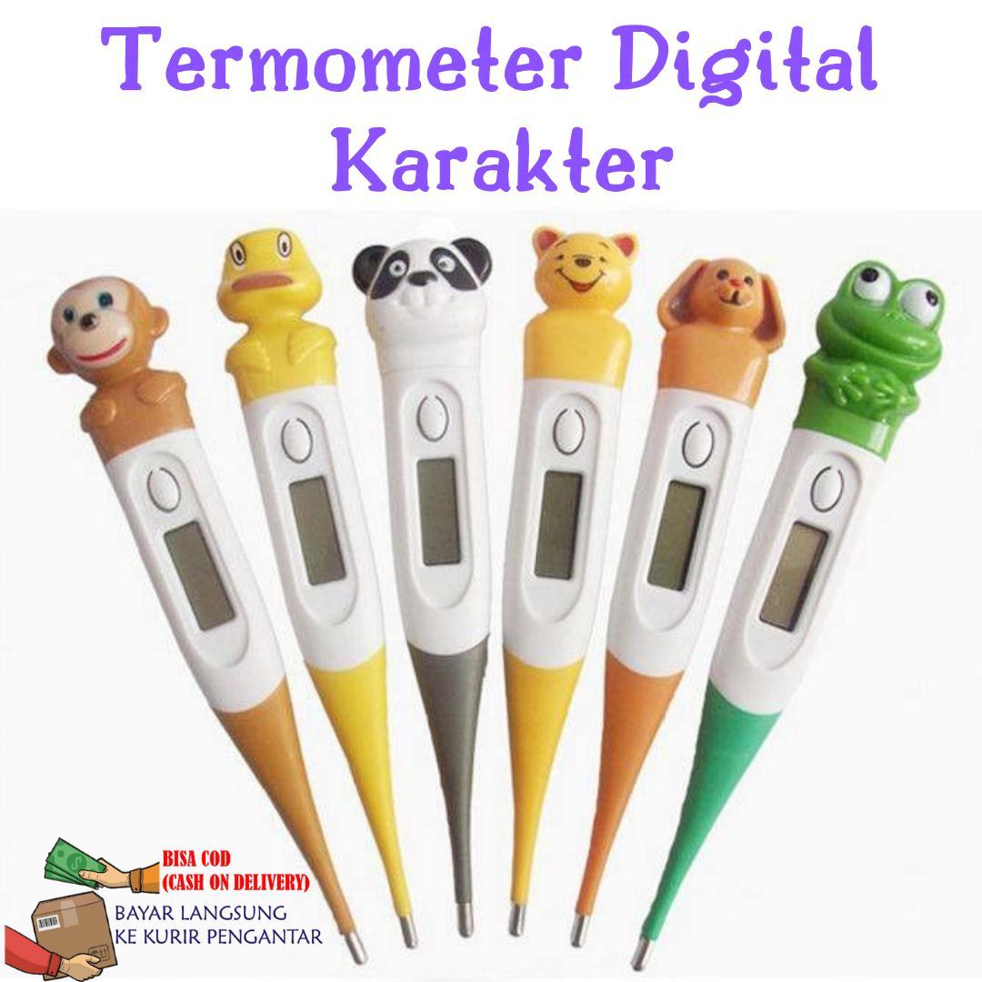 Termometer Digital Badan Anak Bayi Dewasa Karakter By Antarestar.