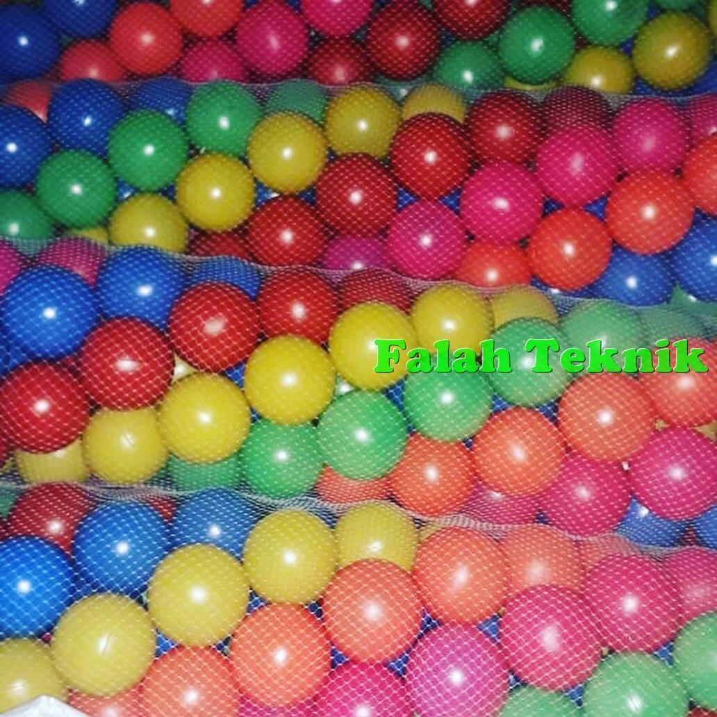 Mandi Bola Warna Warni Mainan Bola Anak Isi 25pcs (sudah Sni) By Falah Teknik.