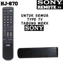 SONY - REMOTE TV SONY TRINITRON TABUNG - Original 100%.