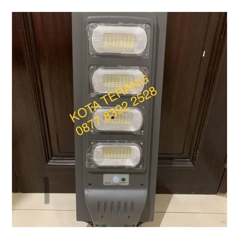 Lampu Jalan PJU Solar Led 120 Watt 120W All In One Tenaga Surya
