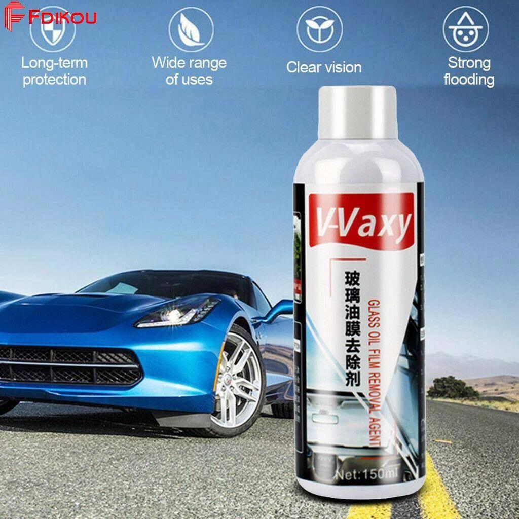Fdikou Newest V-VAXY Car Windshields Ceramic Glass Coating 9H Hardness  Rainproof Agent Remover