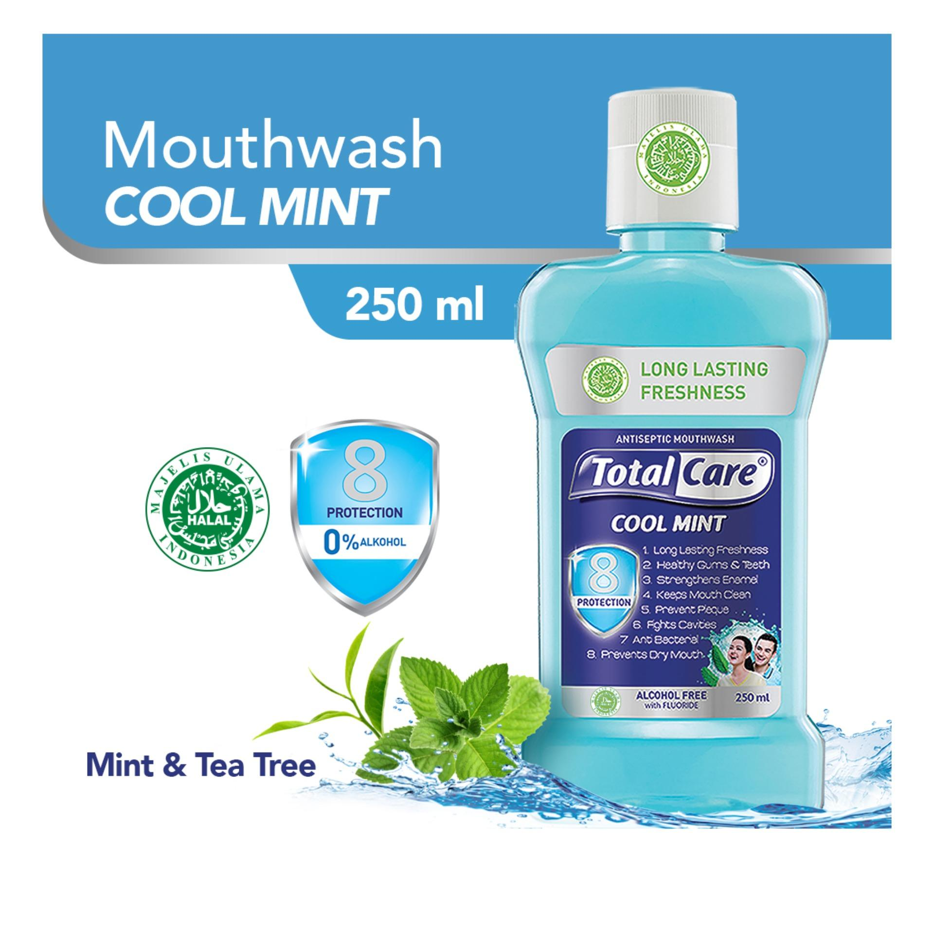 Total Care Mouthwash Coolmint 8 Protection 250 ml