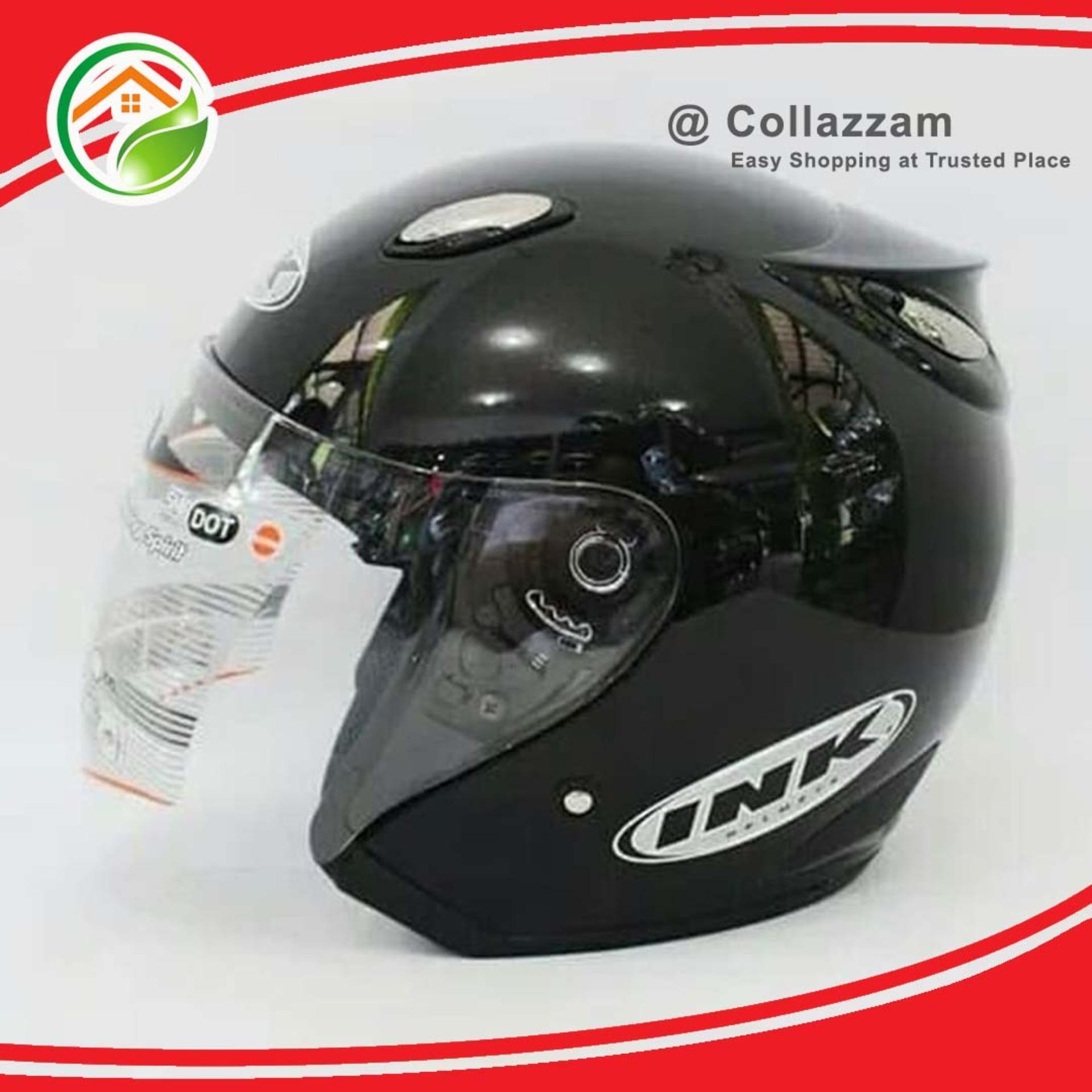 Helm Centro KLY Model INK Hitam Metalik etc KYT NHK WTO BMC 24628a0224