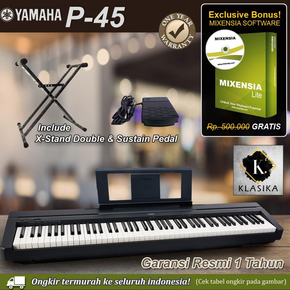 Yamaha P45 - XStand Double / P-45 / P45B / P-45B Digital Piano