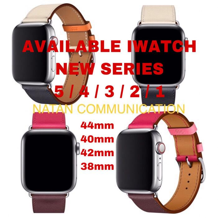 STRAP IWATCH HERMES APPLE WATCH 4 3 2 LEATHER TALI 44mm 40mm 42mm 38mm