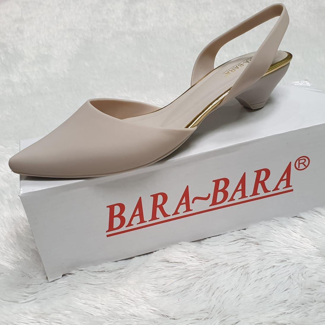 86c9ae5cae96 Bara ~ Bara - Jelly Shoes - Flat Shoes Wanita Hak 3 cm STR13A Warna Dikirim