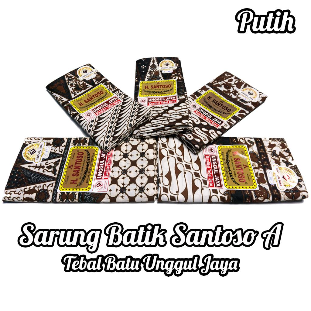 Kain Sarung Batik H.Santoso A Halus Bagus Kwalitas istimewa