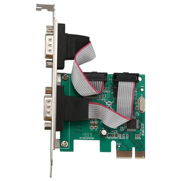 Bảng giá PCI-E PCI Express Dual Serial DB9 RS232 2 Ports Controller Adapter Card Green Phong Vũ