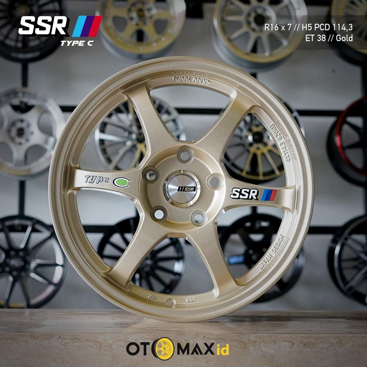 Velg Mobil SSR Type-C Ring 16 (H5) Gold