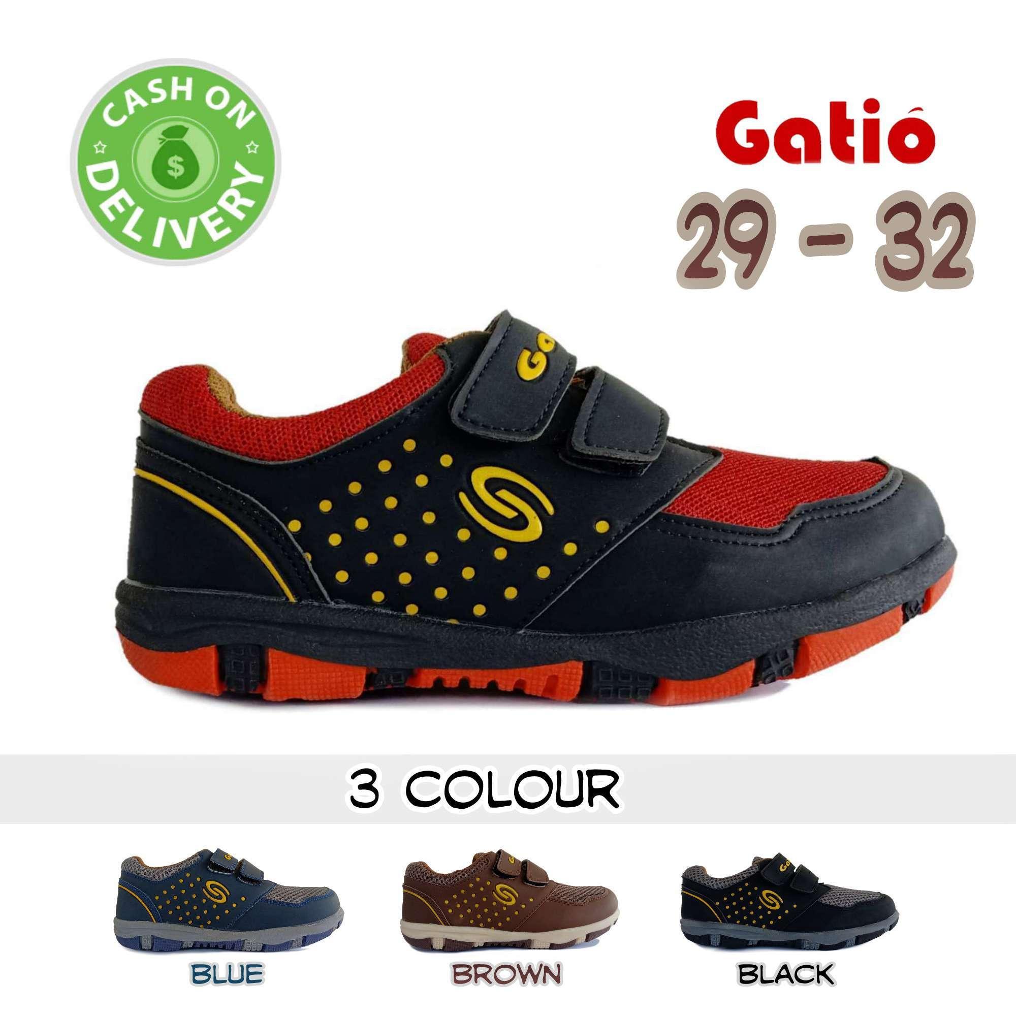 Gatio   Sepatu Sneakers Anak laki laki   Sepatu Anak Laki Laki Cowok   Sepatu  Anak e9b50e121f