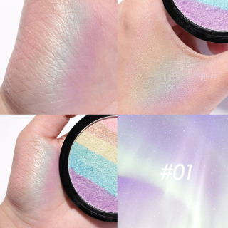 FA35 FOCALLURE RAINBOW HIGHLIGHTER Face contour women professional makeup thumbnail