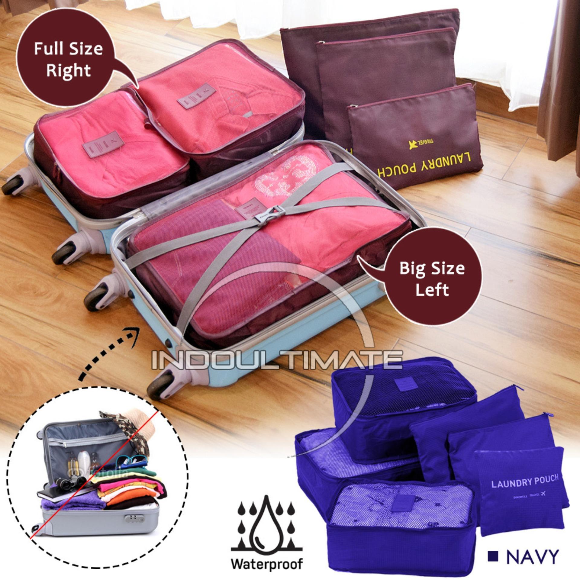 Ultimate Travel Bag 6in1 Organizer OR 60-01 / Organizer Space Koper 1 Set -