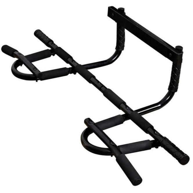 Iron Gym Extreme Alat Pull Up Pintu - HB06 - Black