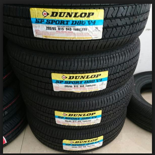 Ban Mobil Dunlop 205/65 R15 D80V4 Dunlop