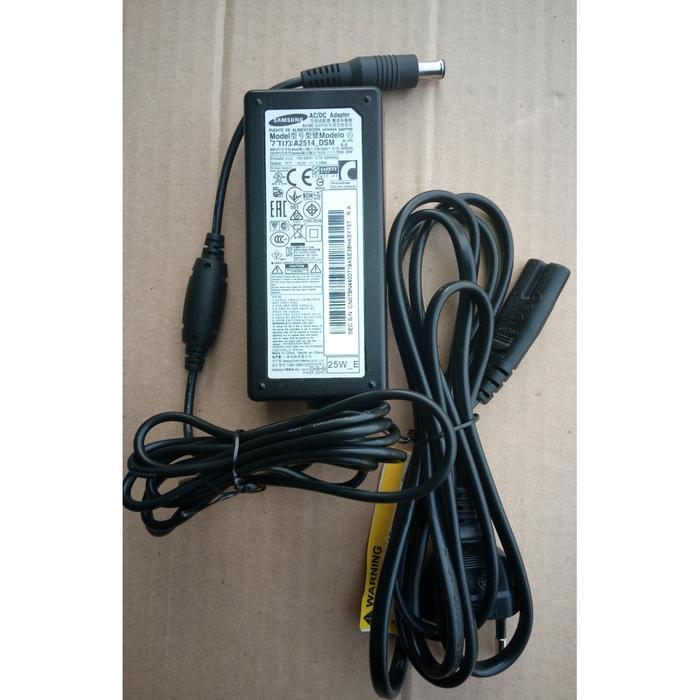 Adaptor Charger LED LCD Monitor TV Samsung 14V 1.786A 25watt