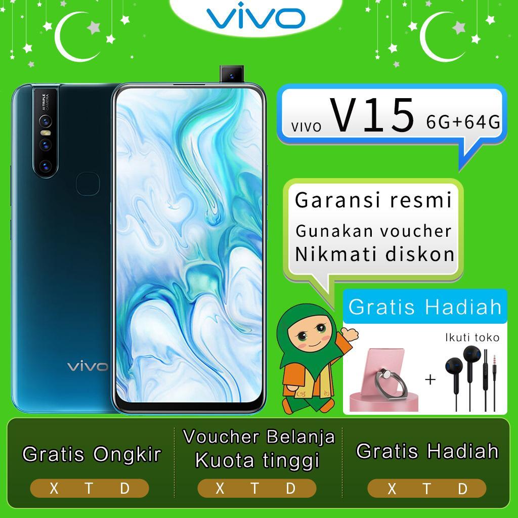 Vivo V15 hp 6G/64G - Gratis Ongkir, 32MP Front Camera, Garansi resmi