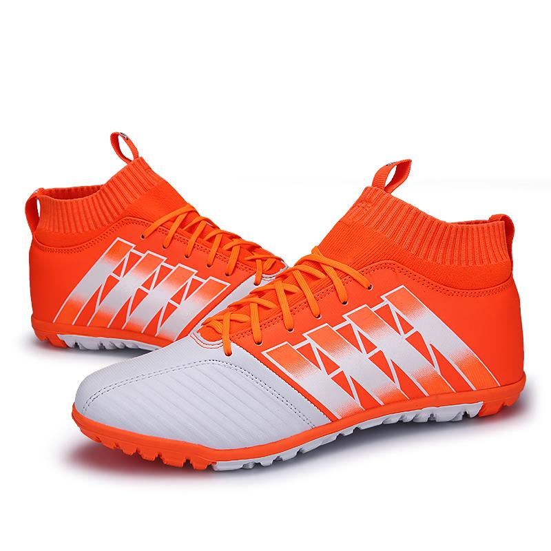 1918130d6494 Kids Football Shoes Larg Size Boy s High Quality Short Nail Soccer Boots New  Style Fashion Outdoor