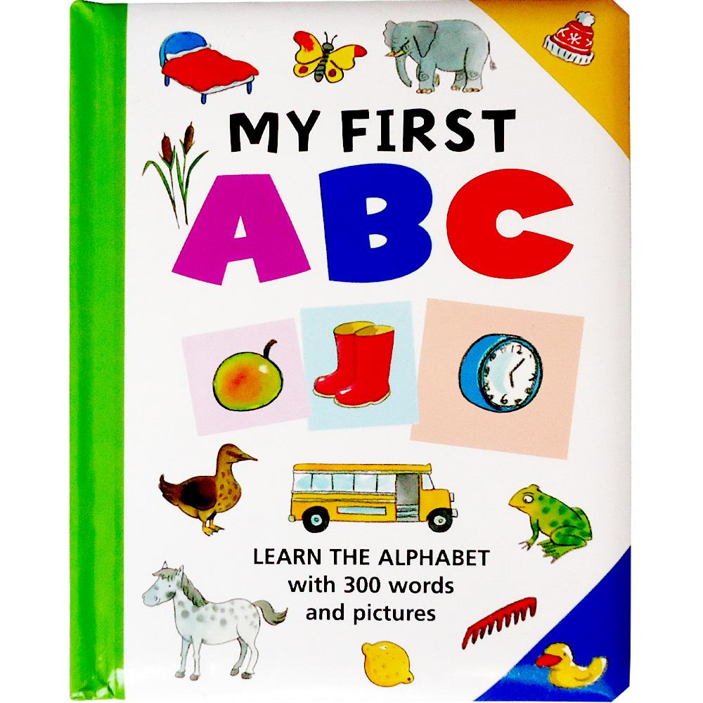 Buku Anak Genius My First Abc Learn The Alphabet With 300 Words And Pictures By Genius Baby Book