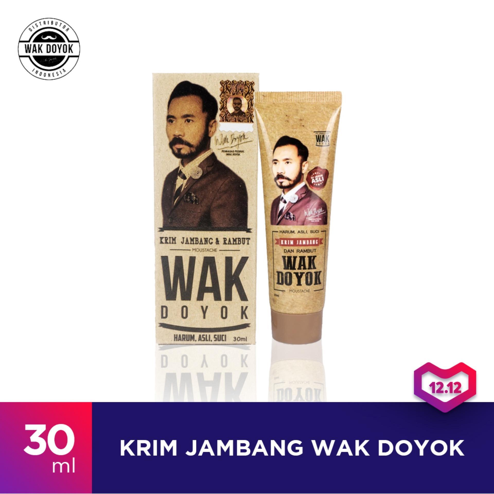 Wak Doyok Cream 30ml Original Hologram - Wakdoyok Krim Penumbuh Jambang 0c805a1ee5