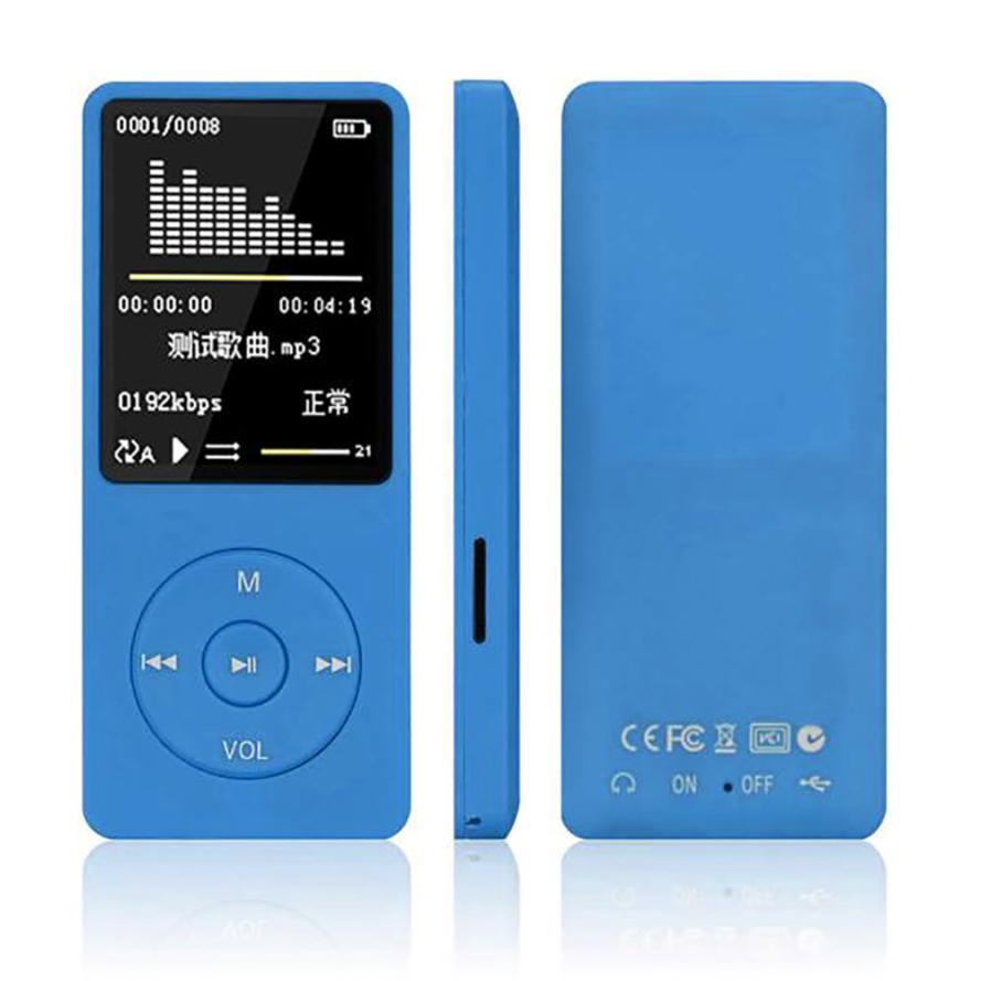 DUX DUCIS PortableSports MP4 MP3 Mini Máy Nghe Nhạc có Màn Hình