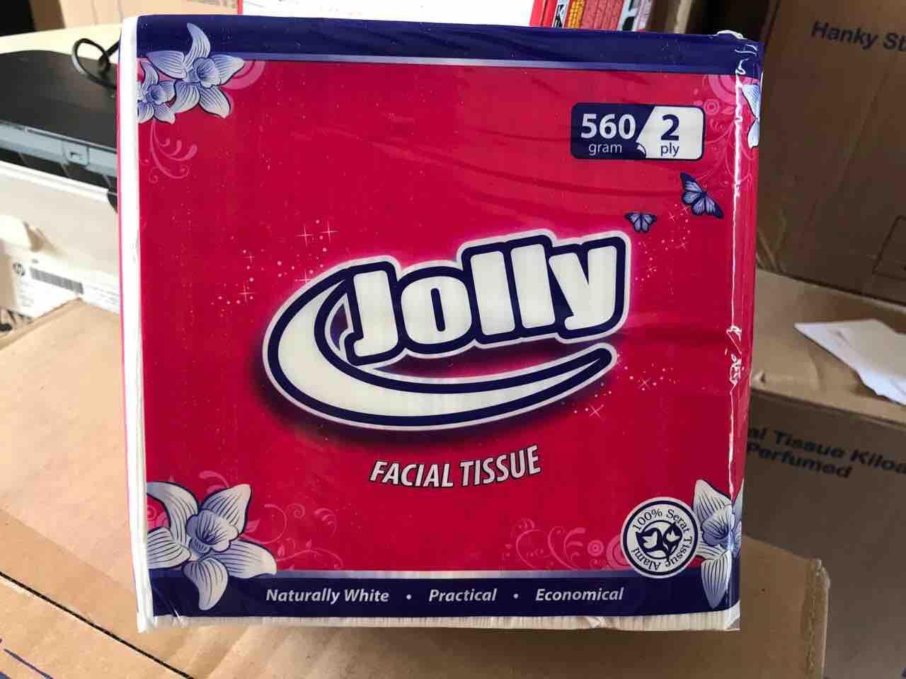 Tissue Tisu Jolly 560 Gram 2ply By Babyme..