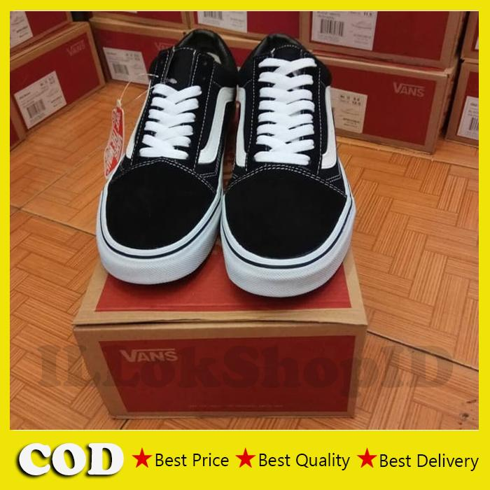 Sepatu Vans Old Skool Original Sneakers Casual - ILLOK