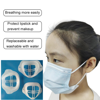 Kitorgan NEW 1Pcs 10pcs 3D reusable washable ma-sk bracket high quality mass inner pad skin-friendly Facemask holder for adult and children thumbnail