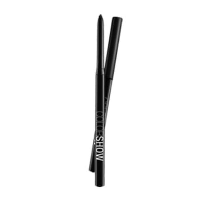 Maybelline Color Show Crayon Khol Eye Liner Eyeliner Pencil Pensil - Deep Black