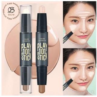 Lameila Highlight Contour Krim Face Eye Foundation Concealer Highlight Contour Pen Stick Cream thumbnail