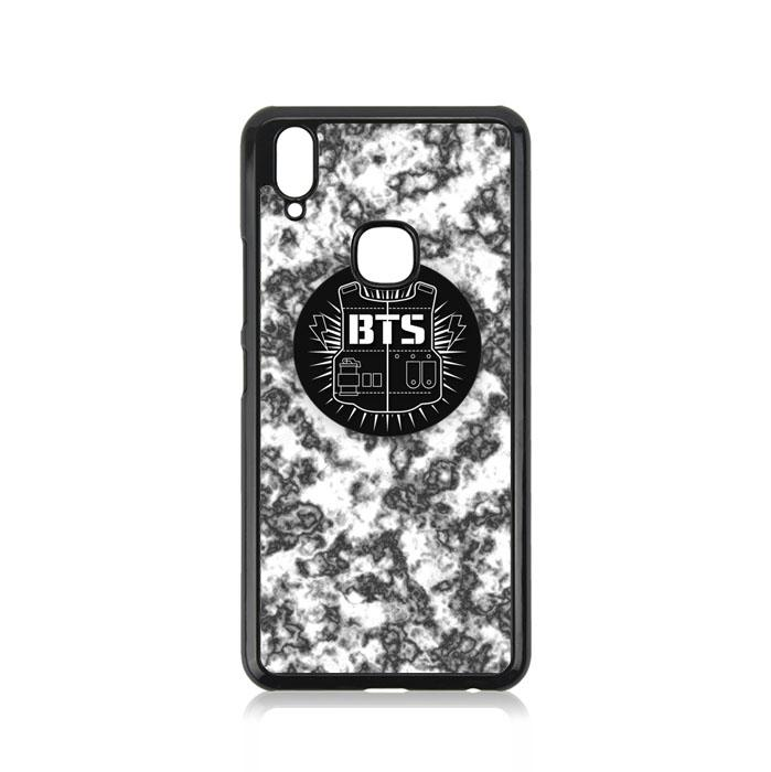 Casing For Vivo Y91 BTS Boyband logo Marble G0039