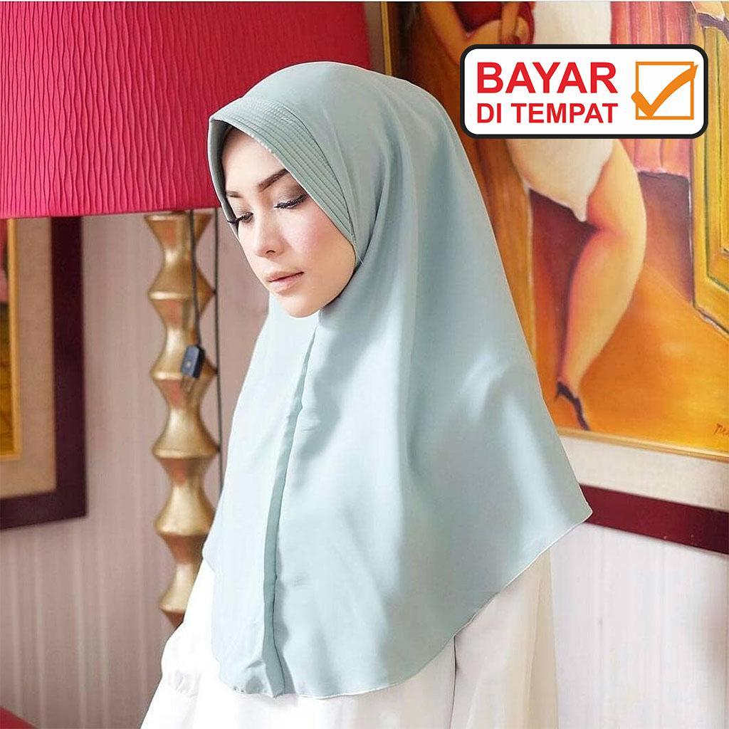 Jilbab / Hijab SIMPLE PET Instan - Kerudung Khimar Simpel Pet Instant