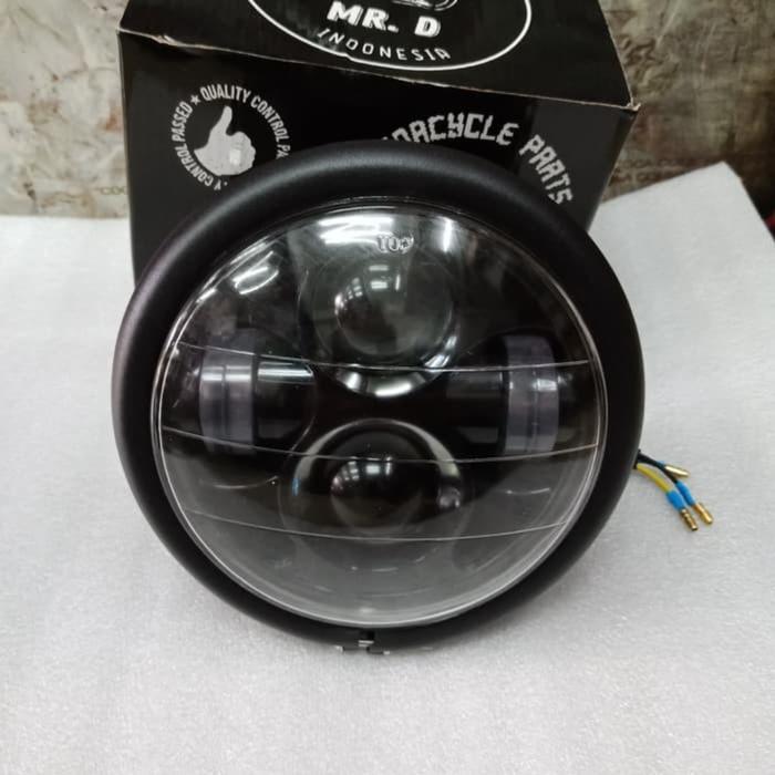 (Terlaris dan Termurah) lampu depan motor daymaker japstyle Sedia Juga lampu led depan sepeda motor/lampu tembak motor/lampu tembak led motor