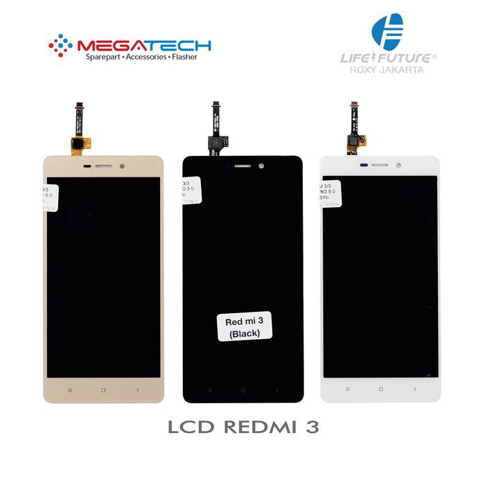 LCD FULLSET XIAOMI REDMI 3/REDMI3/REDMI 3 PRO/REDMI 3S + TOUCHSCREEN - Hitam