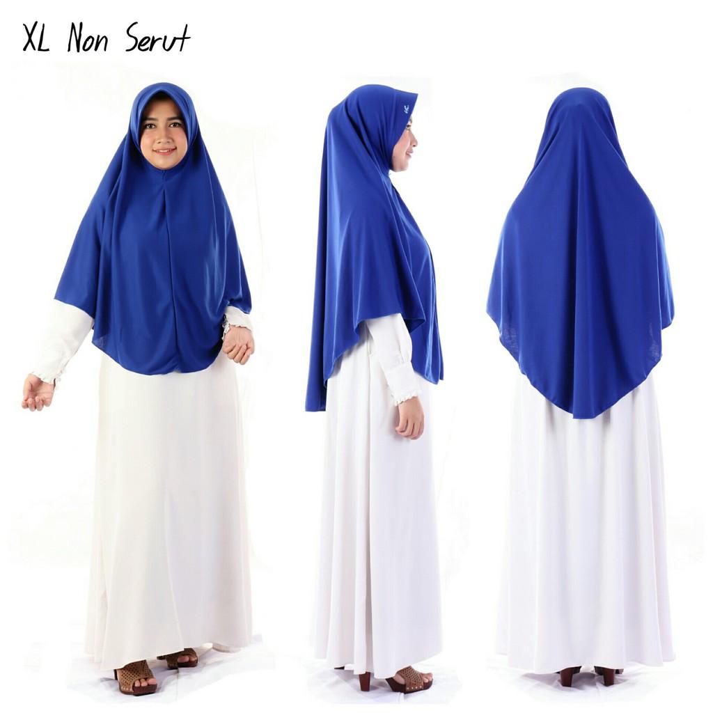 Hijab Bergo Xl Tanpa Serut Bahan Kaos Pet Antem Jilbab Rabani Rabbani Lazada Indonesia