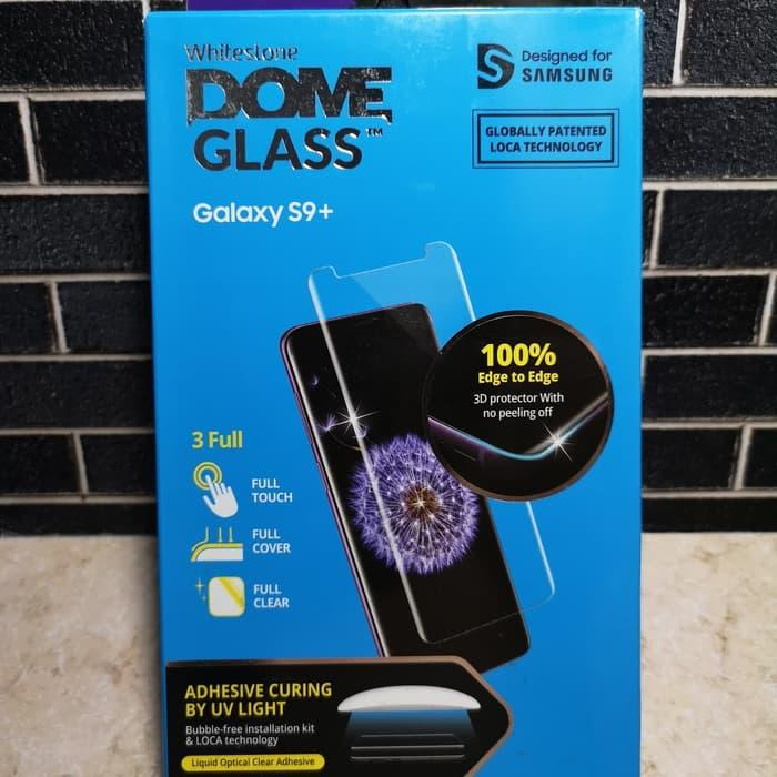 Whitestone Dome Full Adhesive Tempered Glass Samsung Galaxy S9 Plus