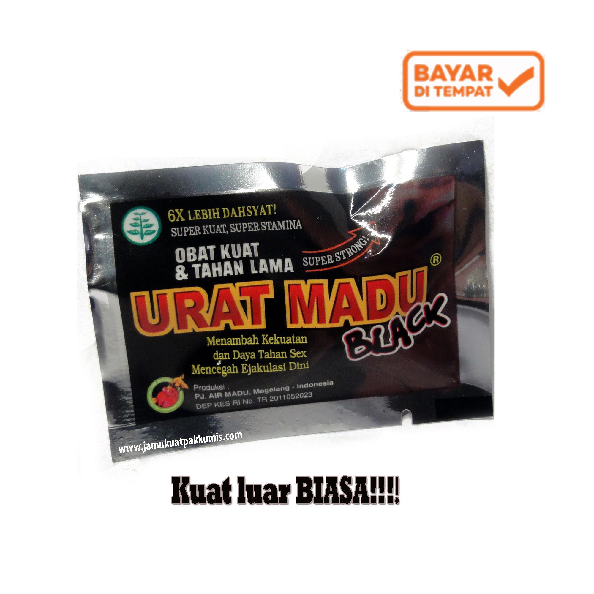 Kapsul URAT MADU BLACK Jamu Kuat Lelaki 6x Lebih dahsat !! - 1 Sachet ( 480f05105a