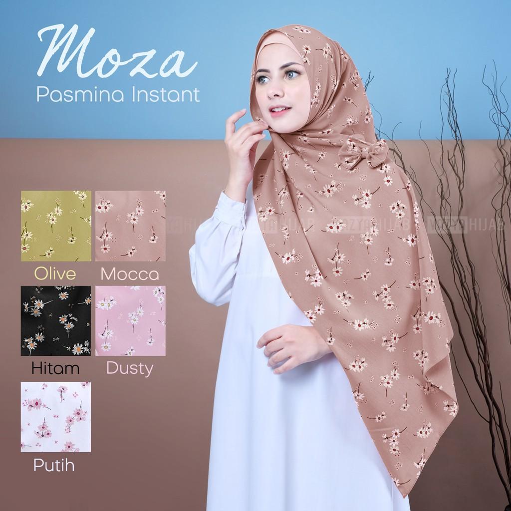 Jual Hijab (JIlbab) Modern Terbaik / Pashmina Instan / BISA BAYAR DITEMPAT / Pashmina Instant Moza / hijab pashmina