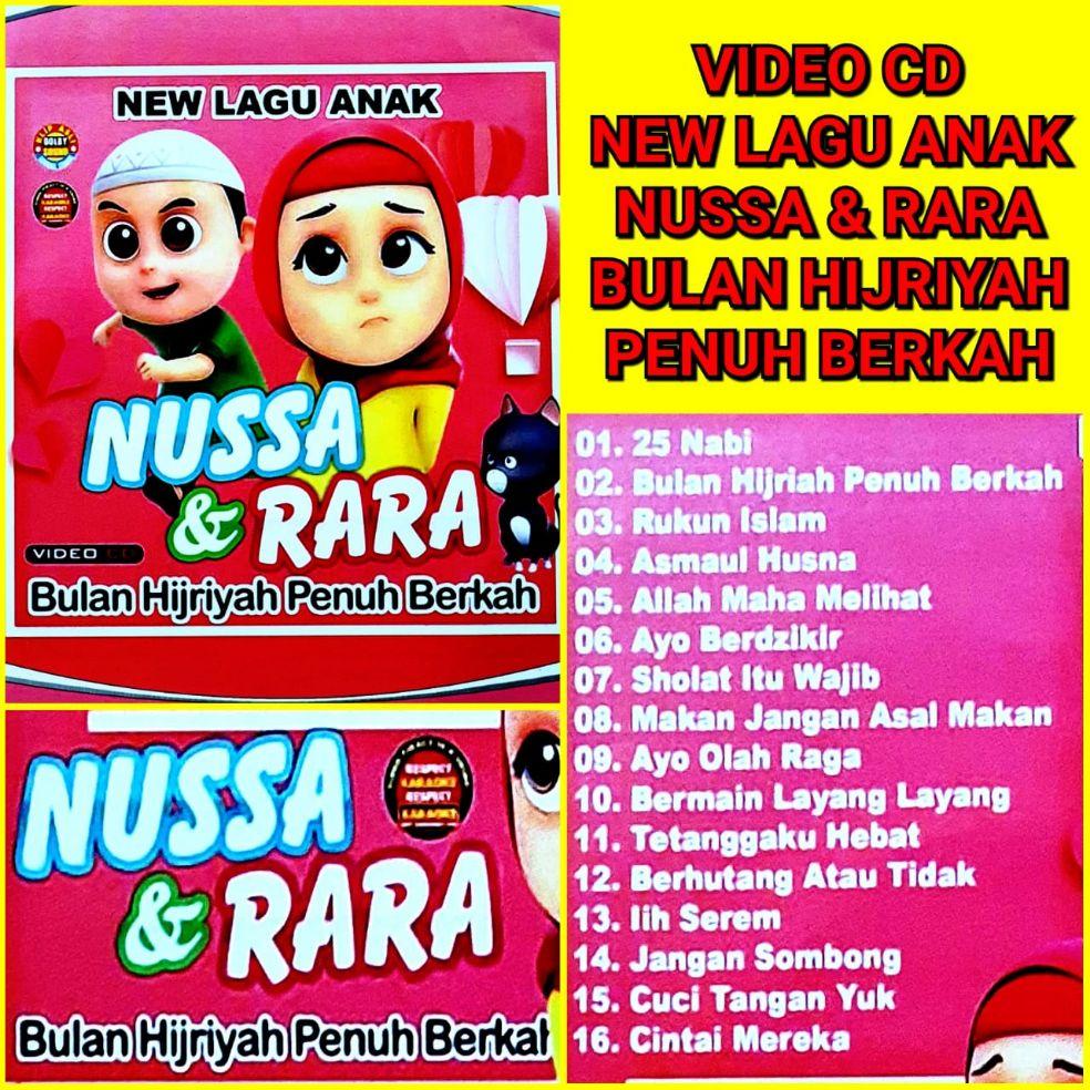 Kaset Dvd Lagu Anak Terbaru Terpopuler Nussa & Rara   Lazada Indonesia