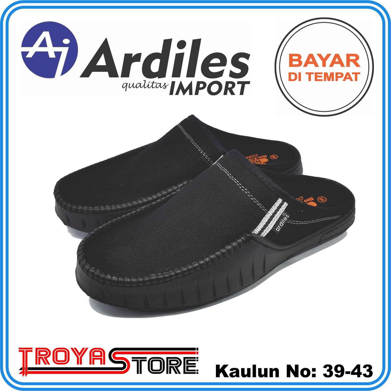 TROYASTORE - ARDILES Sandal Sepatu Pria Branded Original Kaulun   Sepatu  Sandal Slip on Original   3b4e139bf6