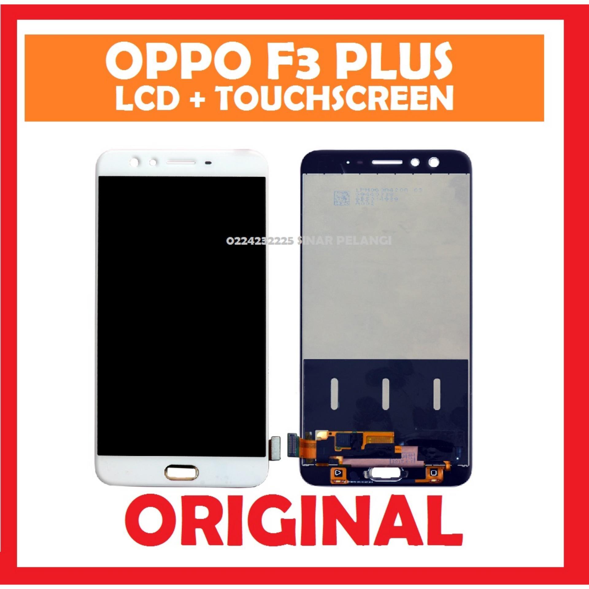 LCD SCREEN LAYAR OPPO F3 F3 PLUS 6 INCH TOUCHSCREEN WHITE 907902