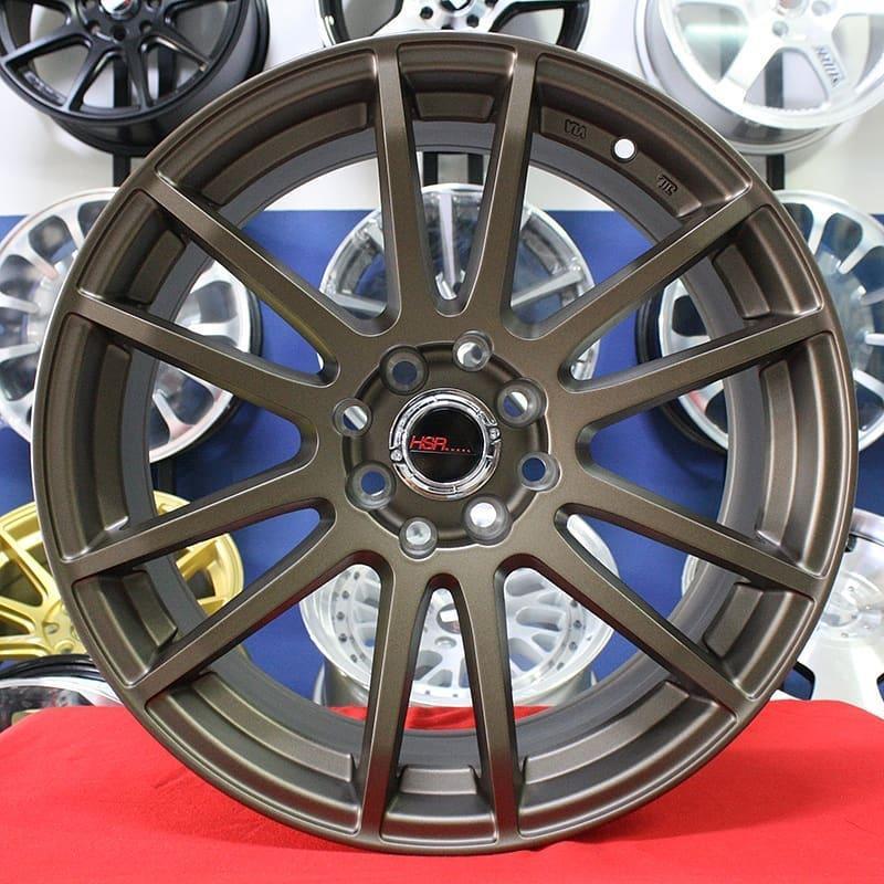 Velg Mobil Ring 17 Racing HSR NOSHIRO 57E Avanza Xenia Honda Freed Yaris