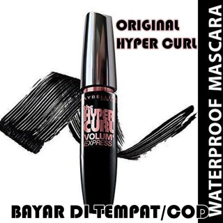 Maybelline Volume Express Hypercurl Mascara Black Original - MASKARA MAYBELLINE VOLUM EXPRESS - WATERPROFF MASCARA - NEW YORK BLACK thumbnail