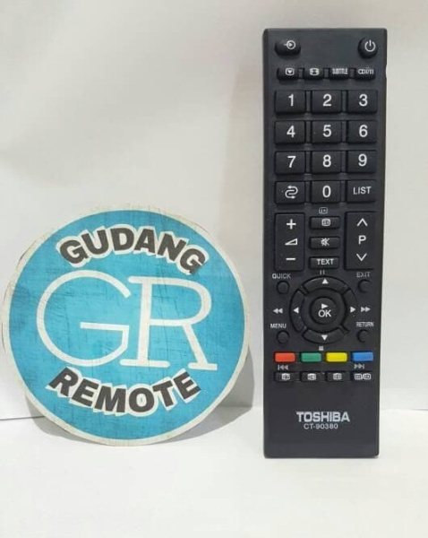 Remote remot TV Toshiba LED LCD Slim Tabung