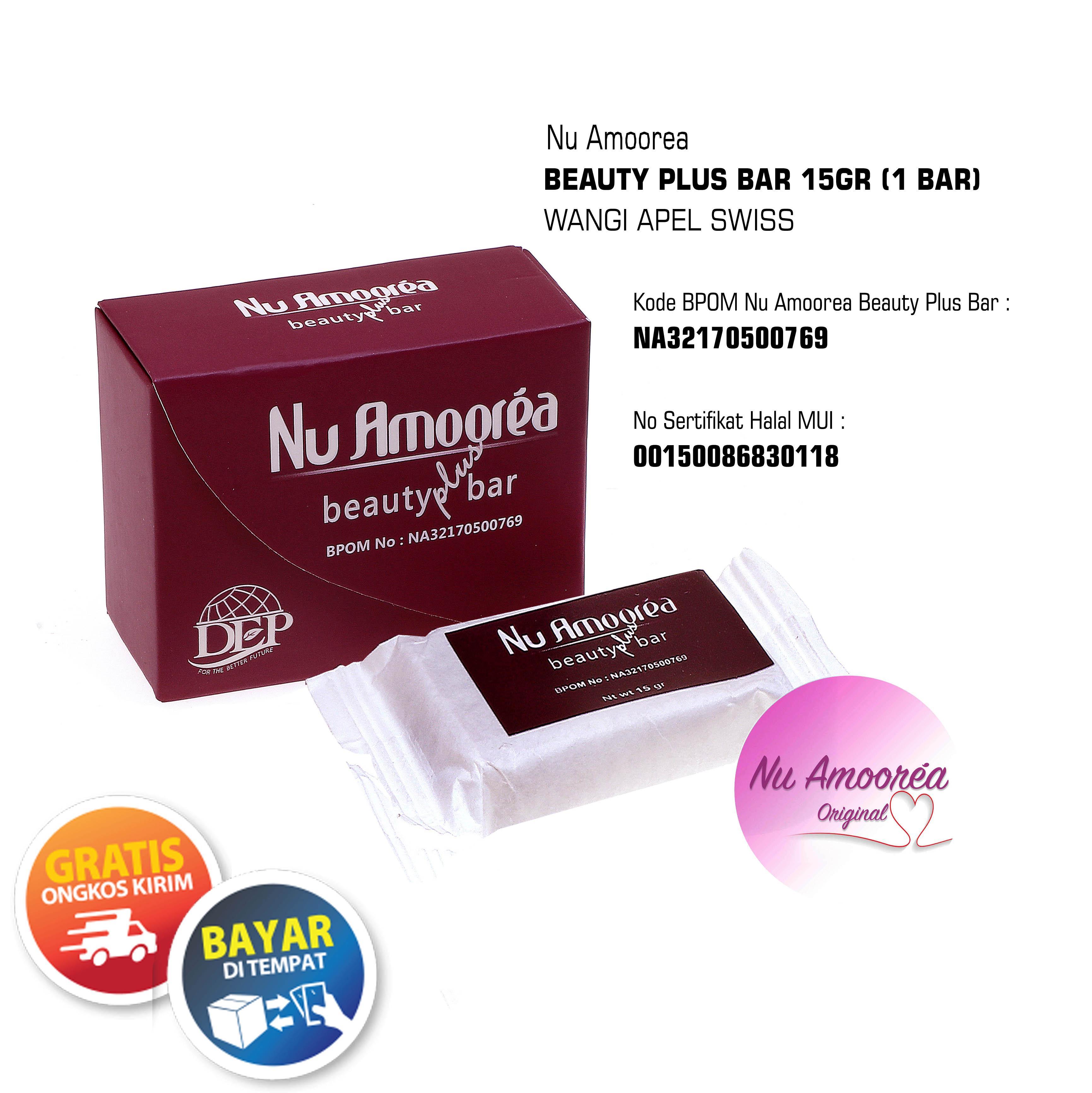 Nu Amoorea Beauty Plus Bar Stemcell 15gr By Nu Amoorea Original.