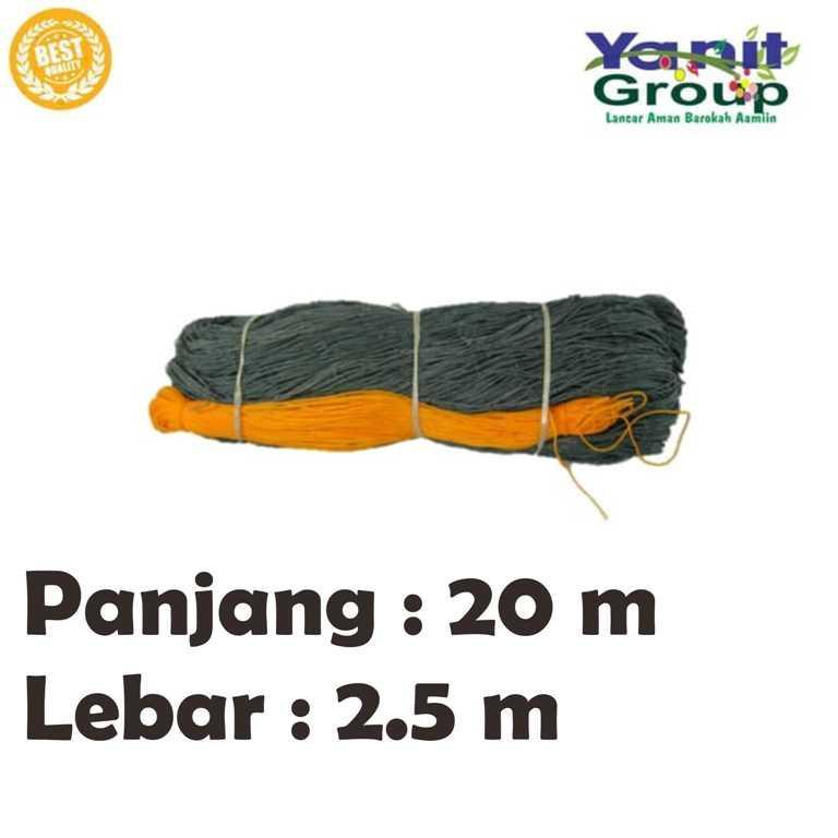 Jaring Pagar Ayam Nylon Panjang 20 M Lebar 2,5 M By Yanit Garden