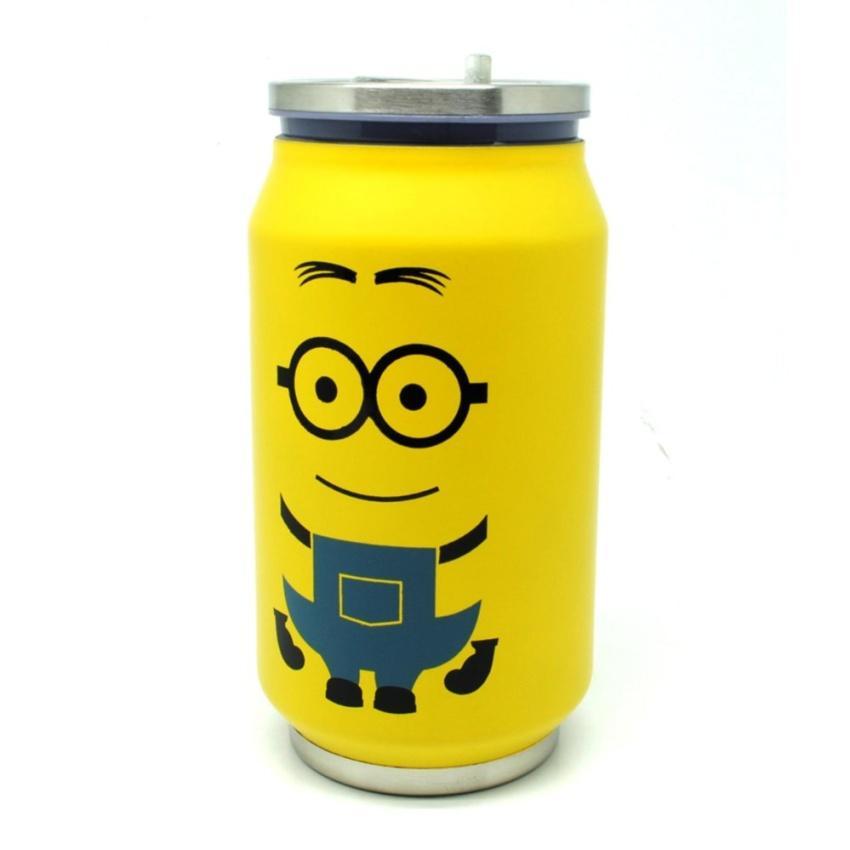 Mug Anak Botol Minum Yellow Insulated Termos 500ml Kaleng Sekolah S2294 Thermos XikOPZu
