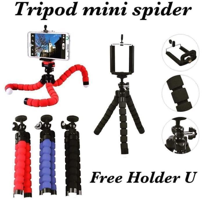 Tripod Mini Spider + Holder U HP
