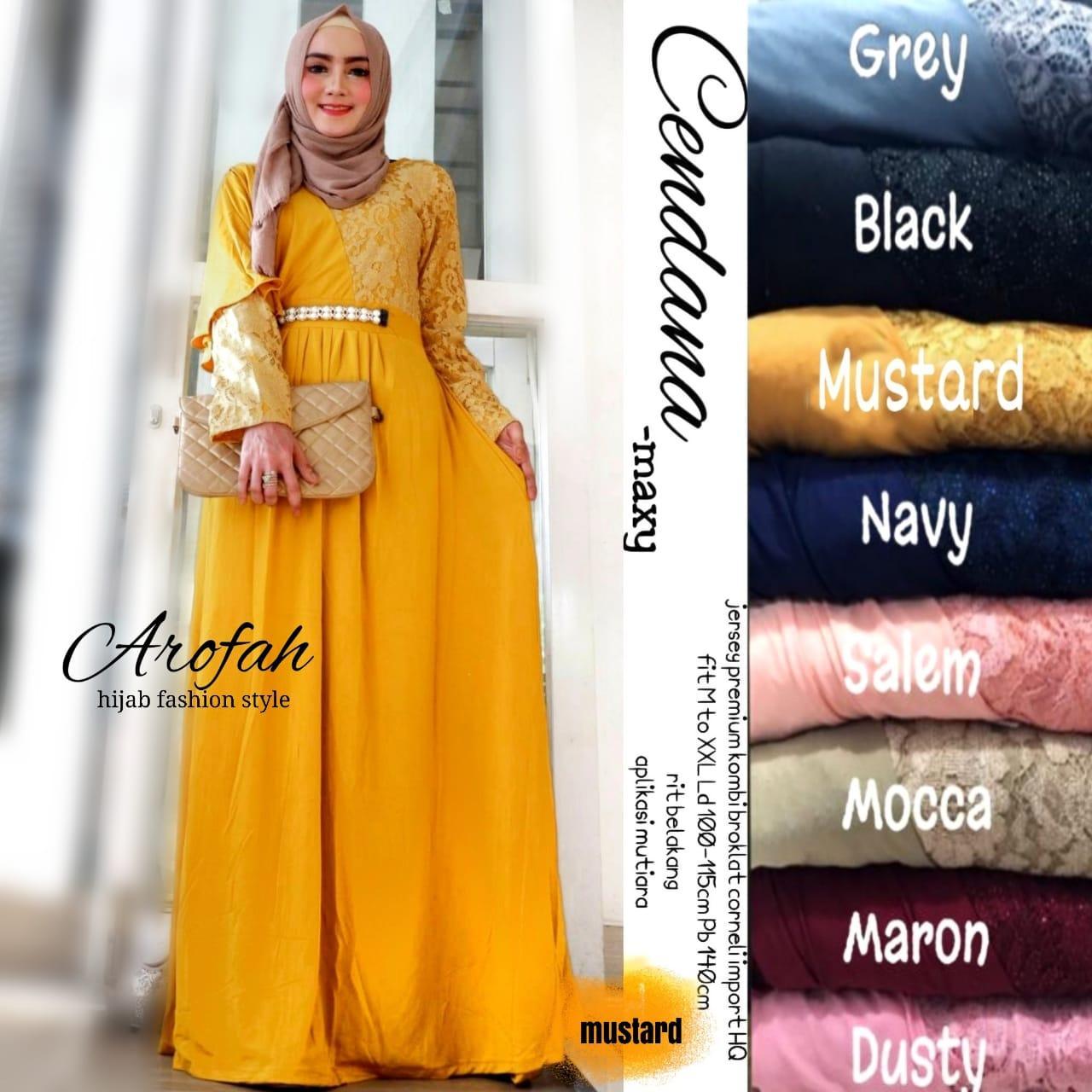 Cendana Maxy Jersey Premium Combi Brokat | Gamis Pesta Remaja| Sorabel Baju Gamis| Gamis Dresslim Rabbani| Model Baju Gamis Brokat Terbaru 2019 Desain Modern Dan Mewah| Model Kebaya 2019|Dress Brokat Muslim| Baju Dress Terbaru| Baju Olahraga Muslim