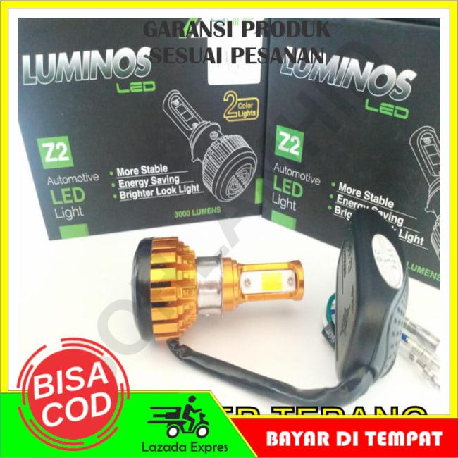 BAYAR DI TEMPAT!!Lampu Motor LED Honda Beat ESP FI LUMINOS Z2 2 Warna Putih dan Kuning || Lampu Motor || Bhid1